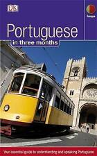 Portuguese in 3 Months (Hugo in 3 Months)-ExLibrary