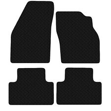Volvo V50 2004 - 2015 Black Floor Rubber Fully Tailored Car Mats 3mm 4pc Set