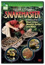 Austin Stevens Snakemaster - In Search of the Giant Lizard, Monster Rattler Mor