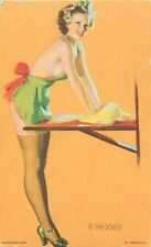 "GIL ELVGREN (UNSIGNED) ""IN THE DOUGH"" RISQUE PIN-UP KNEADING DOUGH MUTOSCOPE"