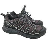 Salomon X Ultra Prime Men's Hiking Trail Running Mens Shoes Size 9.5 Black