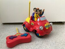 The Wiggles 2004 Remote Control Big Red Car~Car & Remote~Works~People Fall Out