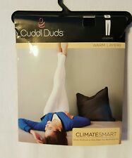 Cuddl Duds Warm Layers Climate Smart - Leggings - Black - Small - NWT