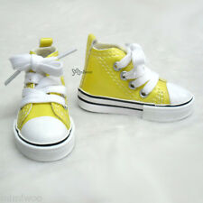 Super Dollfie Dream SD DD 1/3 bjd Obitsu 60cm Doll Shoes Metallic Sneaker YELLOW