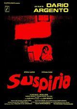 SUSPIRIA MANIFESTO HORROR DARIO ARGENTO JESSICA HARPER STEFANIA CASINI BOSE
