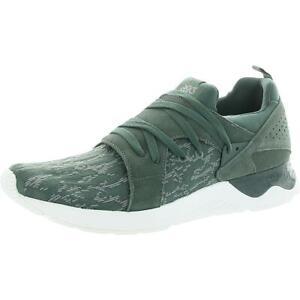 ASICS Tiger Mens Gel-Lyte V Sanze Green Sneakers Shoes 14 Medium (D) BHFO 3986