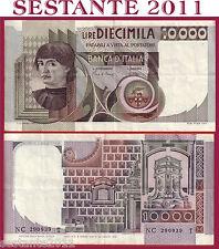 ITALIA ITALY 10.000 10000 LIRE BUSTO D'UOMO CASTAGNO 1984 P 106c BB++ / VF++