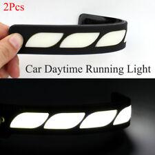 White DRL LED Car Daytime Running Lights Driving Bulbs Daylight 12V Fog Light