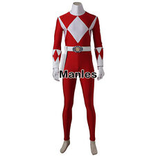 Power Rangers Zyuranger Geki Cosplay Jason Costume Jumpsuit Men Bodysuit