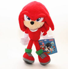 Sonic The Hedgehog Tails Knuckles Red Plush Doll Figure Toy Gift 8 inch