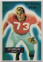 1955 Bowman #104 Leo Nomellini EX-EXMINT San Francisco 49ers FREE SHIPPING