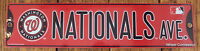 Street Sign Washington Nationals Ave. MLB Lic Baseball full colorful picture