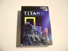 TITANIC - DE COMPLETE COLLECTIE 3 DVD 100 JAAR HERDENKINGSEDITIE 150 MIN.
