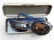 Gafas de glaciar de Swiss Army originales con nieve de ejército caso gafas de sol CEBE gafas