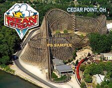 Ohio - Cedar Point - MEAN STREAK roller coaster - Flexible Fridge MAGNET