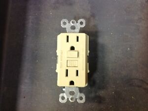 Guaranteed Good Used GFCI Ground Fault Circuit Interrupter Receptacle Outlet GFI