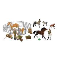Kids Farm Animal Figure 50pc Set Plastic Children Barn Horse Learning Play Toy