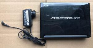 GOOD SHAPE Acer AOD255E 10.1in. 250GB 1.66GHz 1GB RAM Netbook Black Windows 7