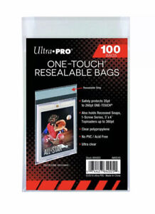 One-Touch Resealable Bags von Ultra Pro (100 Stück)