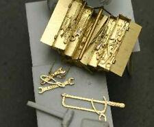 Aber 1/35 PE Foto-Grabado de herramientas de mano y caja de herramientas-Kit Modelo #35A68