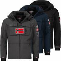 Geographical Norway Herren Softshelljacke Regen Outdoor Jacke Windbreaker S-3XL