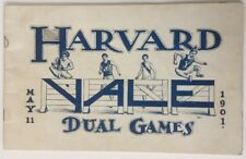 1901 Harvard vs Yale Dual Games Track And Field Yale Field