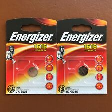 2 x Energizer 1616 CR1616 3V Lithium Coin Cell Battery DL1616 BR1616