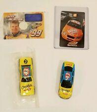 NASCAR LOT of 4  Burton Stewart Petty Andretti Cheerios Die Cast Trading Cards