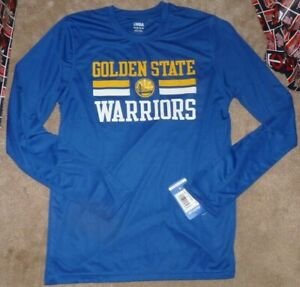 NEW NBA Golden St State Warriors L/S Long Sleeve T Shirt Youth Boys XL NEW NWT