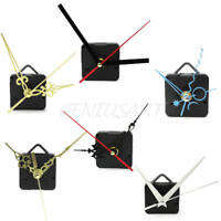 Black Quartz Wall-Clock Movement Mechanism Hands DIY Repair Tool Parts Kit Hot