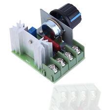 4000W AC 220V SCR Voltage Regulator Speed Controller Dimmer Thermostat LO