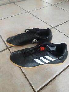 Adidas Schuhe Gr. 38 schwarz Hallenschuhe Kinder