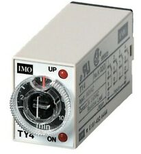 IMO Precision Control TY4 Timer 240v 10 Minute 4 Pole Changeover Relay Switch