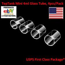 4pcs/Pack Kanger TopTank Mini 4ml Replacement Pyrex Glass Tank Tube New