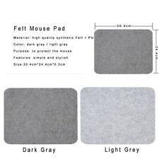 Thick Multi-function keyboard mouse pad Felt Desk Mat Non-slip Wool warm winter