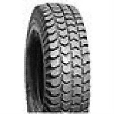 """2 Invacare wheelchair tires 14x3"""" (300-8), solid knobby gray flat free new."""