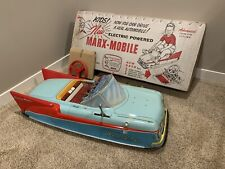 1959 Marx Electric Powered Marx Mobile Sportster Ride on Tin Toy Car *Mint!