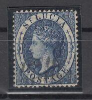 C2895/ BRITISH ST LUCIA – VICTORIA – SG # 7 USED – CV 170 $