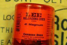 Lee 41 Mag. Reloading Dies