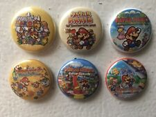 PAPER MARIO Refrigerator Magnets Origami King Super Thousand Year Door Game Room