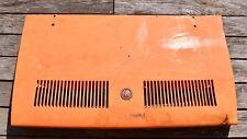 Hayon arrière coffre capot moteur trunk hood Fiat 850 sport spider cabriolet