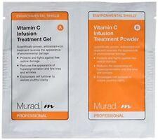 4 Pack Murad Professional Vitamin C Infusion Treatment Mask - powder+gel