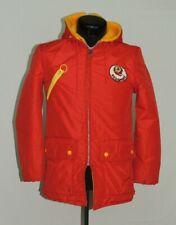 VTG Stahl-Urban Hooded Washington Redskins Jacket Snap Coat NFL Football Stadium