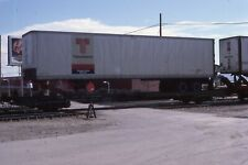 Private Railcar   GNAX #999  SPECIAL 2-AXLE flat for TTX trailers   DIFFERENT