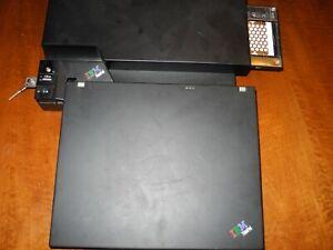 IBM Lenovo Thinkpad T60 incl. Docking Station + Festplatteneinschub