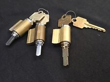 Arrow KIK/KIL Cylinders w/ keys, A Keyway, set of 3-Locksmith