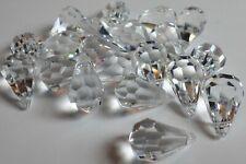 20 Genuine Swarovski Crystal 20x11mm Faceted Teardrops Beads Pendants Art. 6000