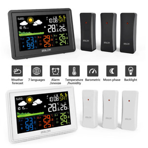 Digital Color Weather Station with MSF Radio Control (UK Version) SEE VIDEO