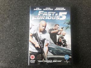 Fast And Furious 5 - Rio Heist (2011) Vin Diesel (DVD, 2011) Ladies Men's Film