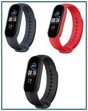 Smartwatch m5 fitness impermeabile per android sport nero smart watch orologio